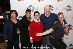 Wendy Gillespie, Telly Leung, Anne Safran Dalin, Matthew Woolf and Michael Prince. Photo by Lia Chang