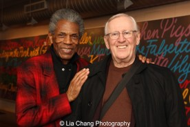 André De Shields and Len Cariou will be appearing BC/EFA's BROADWAY BACKWARDS on March 21, 2016. Photo by Lia Chang