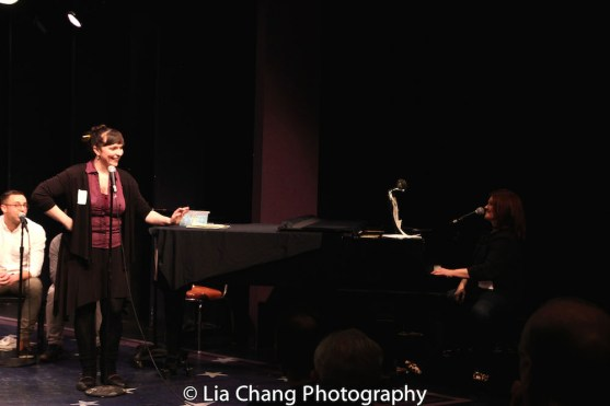 Lyricist Kate Chadwick and composer Lisa DeSpain. Photo by Lia Chang