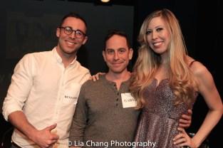 Benjamin Halstead, Garth Kravits and Emily McNamara. Photo by Lia Chang