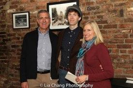 Gary Breaux, Alex Breaux and Nancy Breaux. Photo by Lia Chang