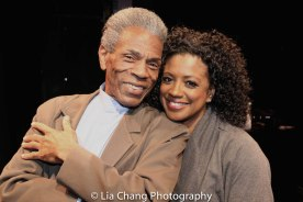 André De Shields and Marva Hicks. Photo by Lia Chang