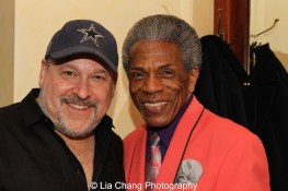 Frank Wildhorn and André De Shields. Photo by Lia Chang