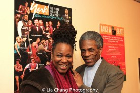 Kecia Lewis and André De Shields. Photo by Lia Chang