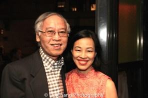 Cao O and Lia Chang. Photo by Garth Kravits