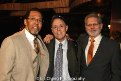 Peter Jay Fernandez, Greg MacPherson and Tom Schall. Photo by Lia Chang
