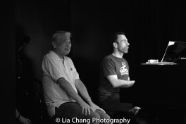 Alvin Ing and musical director Thomas Conroy. Photo by Lia Chang