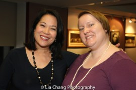 Christine Toy Johnson and Pearl Brady. Photo by Lia Chang