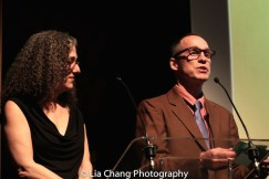 The 52nd Street Project's Executive Director Carol Ochs and Artistic Director Gus Rogerson. Photo by Lia Chang