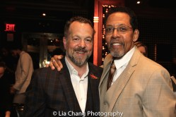 David Costabile and Peter Jay Fernandez. Photo by Lia Chang