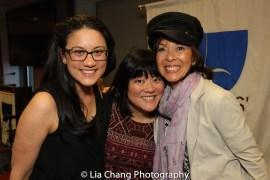 Diane De Boer, Ann Harada and JoAnn Hunter. Photo by Lia Chang