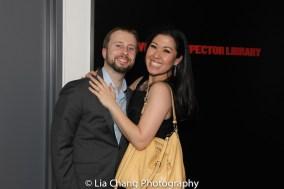Jonathan Blumenstein and Ruthie Ann Miles. Photo by Lia Chang