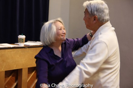 Virginia Wing and Alvin Ing. Photo by Lia Chang