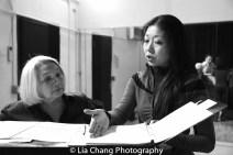 Virginia Wing and director Lainie Sakakura. Photo by Lia Chang