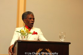 André De Shields leads Theatre Church at BTN's 30th Anniversary conference at the Palmer House Hilton in Chicago on August 9, 2016. Photo by Lia Chang