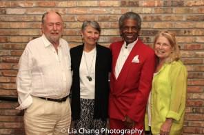 Dennis Začek, Carol Eastin, André De Shields and Marcelle McVay. Photo by Lia Chang