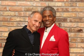 Jim Corti and André De Shields. Photo by Lia Chang