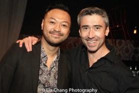 Billy Bustamante and John Haggerty. Photo by Lia Chang