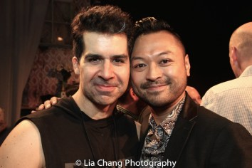 Denis Lambert and Billy Bustamante. Photo by Lia Chang