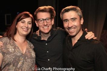 Lacey Tucker, Jasper Grant and John Haggerty. Photo by Lia Chang