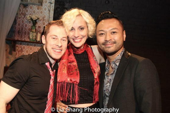 Peyton Royal, Jamey Hood and Billy Bustamante. Photo by Lia Chang
