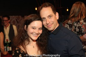 Sarah Smithton and Garth Kravits. Photo by Lia Chang