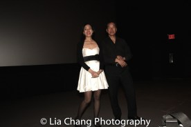 Lia Chang and Peter Kwong after the 30th Anniversary screening of BIG TROUBLE IN LITTLE CHINA at the 4th Annual Urban Action Showcase and Expo at the AMC Empire 25 Times Square in New York on November 12, 2016. Photo by Garth Kravits
