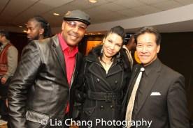 Robert Samuels, Crystal Santos and Peter Kwong. Photo by Lia Chang
