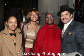 Crystal Dickinson, Sakina Ansari Wilson, Brenda Burton and Brandon J. Dirden. Photo by Lia Chang