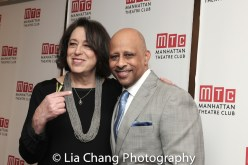 Lynne Meadon and Ruben Santiago-Hudson. Photo by Lia Chang