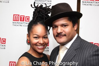 Crystal Dickinson and Brandon J. Dirden. Photo by Lia Chang