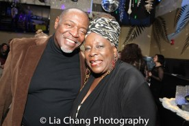 Chuck Cooper and Ebony Jo-Ann. Photo by Lia Chang