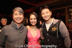 Jason Ma, Ali Ewoldt and Daniel Johnson. Photo by Lia Chang