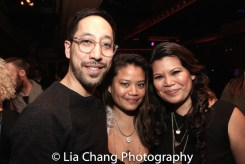 Dax Valdes, Cynthia Casasola and Liz Casasola. Photo by Lia Chang