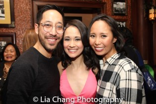 Dax Valdes, Ali Ewoldt and Emily Borromeo. Photo by Lia Chang