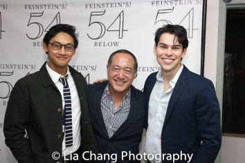 Joshua Dela Cruz, Alan Muraoka and Rodney Ingram. Photo by Lia Chang