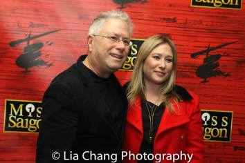 Alan Menken and Anna Menken. Photo by Lia Chang