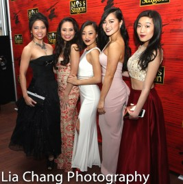 Catherine Ricafort, Carol Angeli Wynn, Lina Lee, Tiffany Toh and Viveca Chow.Catherine Ricafort, Carol Angeli Wynn, Lina Lee, Tiffany Toh and Viveca Chow. Photo by Lia Chang