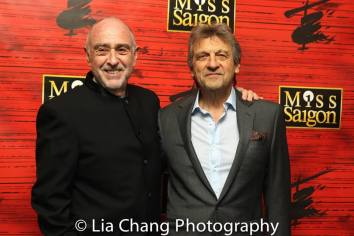 Claude-Michel Schonberg and Alain Boubil. Photo by Lia Chang