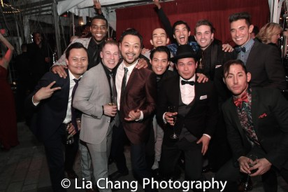 Julius Sermonia, Antoine L. Smith, Peyton Royal, Billy Bustamante, Jason Sermonia, Christopher Vo, Paul HeeSang Miller, Dan Horn, Mike Baerga and Tim Wildin. Photo by Lia Chang