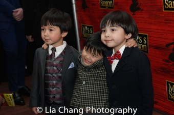 Samuel Li Weintraub, Jace Chen and Gregory Ye. Photo by Lia Chang