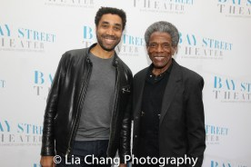 Edward O'Blenis and André De Shields. Photo by Lia Chang