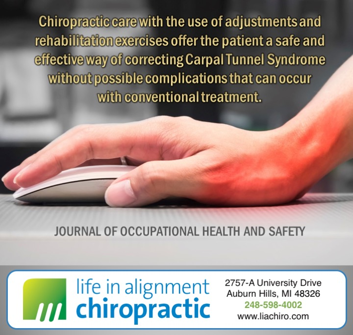 Chiropractic and rehabilitation for carpal tunnel syndrome
