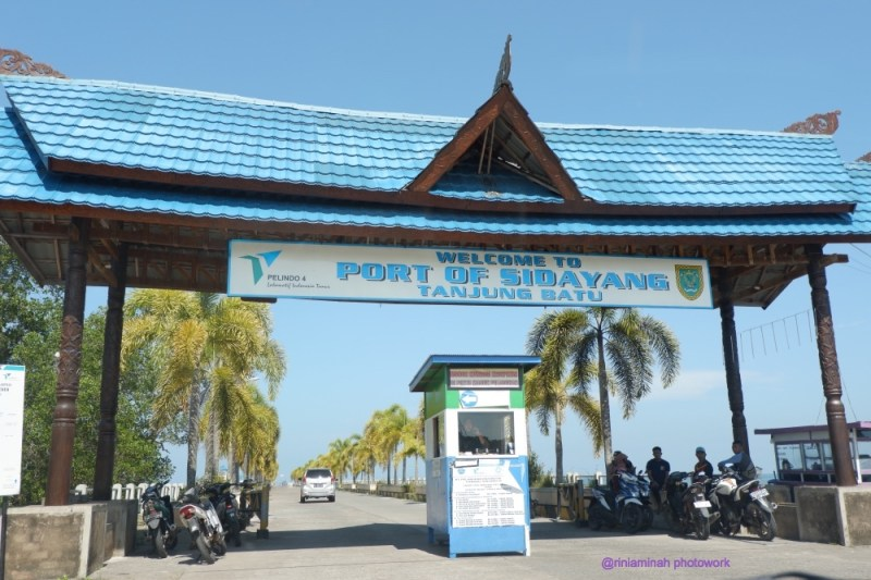 pelabuhan penyeberangan ke pulau derawan