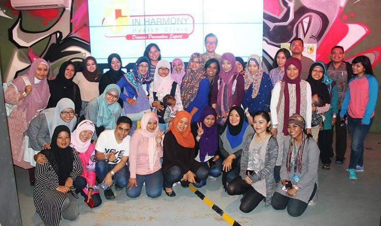 peserta-fun-blogging-in-harmony-health-clinic-prevention