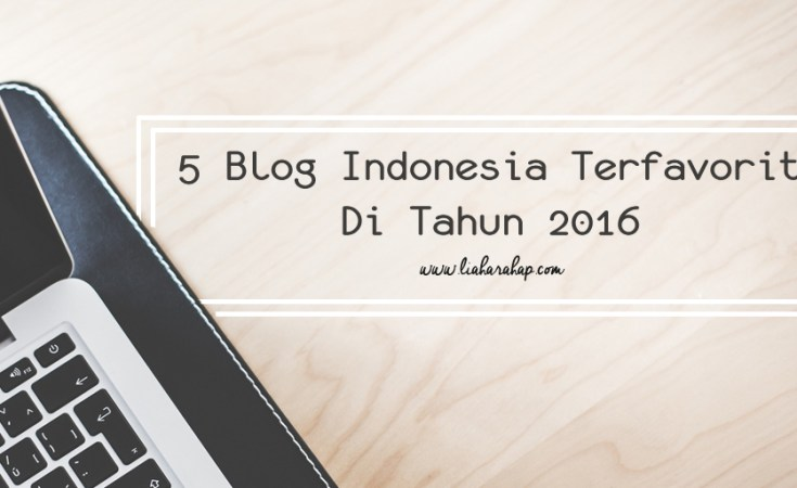 5 Blog Indonesia Favorit