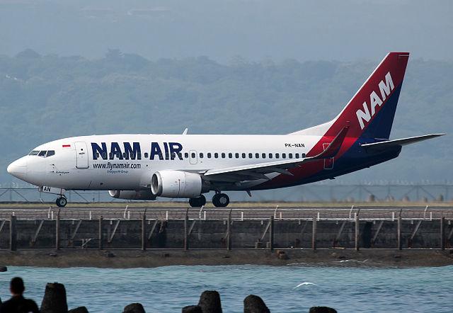 Terbang Menuju Palembang Dengan NAM Air