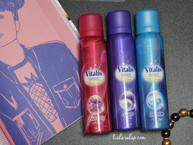 Vitalis Body Spray