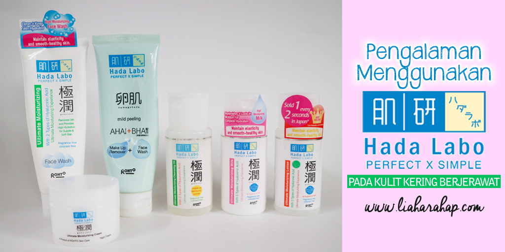 Menghilangkan Jerawat Dengan Produk Hada Labo. Bisa?