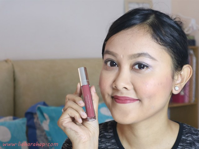 Wardah Exclusive Matte Lip Cream No. 17 Rosy Cheek